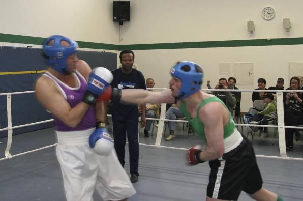 Boxkampf Bremer
